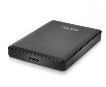 "Внешний диск HDD Hitachi Touro Mobile 1TB 2.5"" USB 3.0 Чёрный 0S03802"