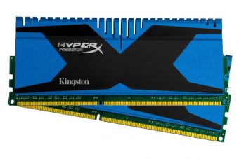 Комплект памяти Kingston HyperX Predator 8ГБ DIMM DDR3 non ECC 1866МГц CL10 1.5В (2шт.) KHX18C10T2K2/8