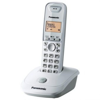 DECT-телефон Panasonic - KX-TG2511RU, standby time 170h, talk time 18h, 1-handset, phone book 50 numbers, search handset, Белый, KX-TG2511RUW
