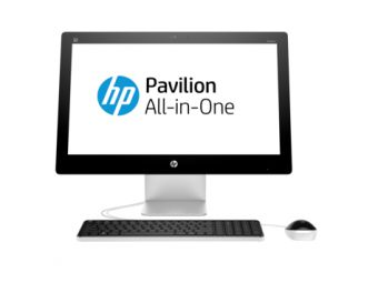 "Моноблок HP Pavilion 23-q201ur 23"" Intel Core i3 6100T 1x4GB 1TB Intel HD Graphics 530 Windows 10 Home 64 V2F84EA - фото 1"