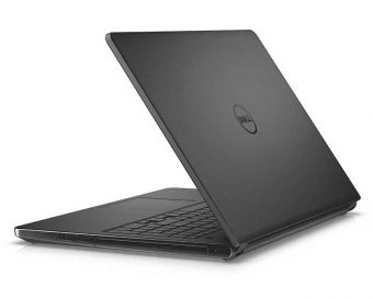 "Ноутбук Dell Inspiron 5559 - 15.6"", 1366x768 (WXGA), Intel Core i5 6200U 2300MHz, SODIMM DDR3L 8GB, HDD 1TB, AMD Radeon R5 M335 DDR3 2GB, Bluetooth, Wi-Fi, DVD-RW, 4cell, Чёрный, Windows 10 Home 64, 5559-8216 - фото 1"