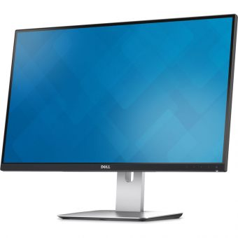 "Монитор Dell - U2715H, 27"", 16:9, LED, IPS, 8ms, 350cd/m², 1000:1, 2560x1440 (WQHD), 75Hz, 2x HDMI, 1x DP, 1x miniDP, USB-hub, HAS, pivot, цвет Чёрный, 2715-0876"