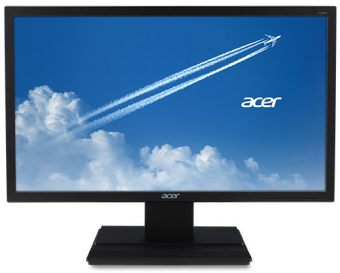 "Монитор Acer - V246HLbd, 24"", 16:9, LED, TN, 5ms, 250cd/m², 1920x1080 (Full HD), 75Hz, VGA, 1x DVI, цвет Чёрный, UM.FV6EE.002"