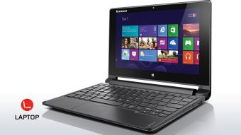 "Ноутбук-трансформер Lenovo Flex10 10.1"" 1366x768 (WXGA) Intel Celeron N2807 2 ГБ HDD 500GB Intel HD Graphics TouchScreen Windows 8.1 64, 59422993 - фото 1"