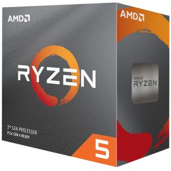 mobile-item-slider-Фото Процессор AMD Ryzen 5-3600 3600МГц AM4, Box, 100-100000031BOX - фото 1
