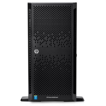 "Сервер HP Enterprise - ProLiant ML350 Gen9, 1xIntel Xeon E5 2609v3 1900MHz, DIMM DDR4 1x16GB, 8xSFF, SAS 2.5"" 2x300GB, Smart Array P440ar, 4x1GbE, DVD-RW, 1x500W, Tower, 5U, 776975-425 - фото 1"