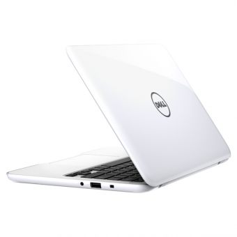 "Ноутбук Dell Inspiron 3162 - 11.6"", 1366x768 (WXGA), Intel Celeron N3060 1600MHz, SODIMM DDR3L 2GB, SSD 32GB, Intel HD Graphics, Bluetooth, Wi-Fi, noDVD, 2cell, Белый, Windows 10 Home 64, 3162-3041 - фото 1"