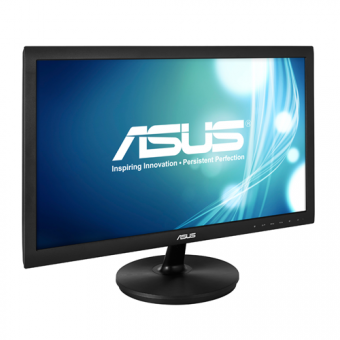 "Монитор Asus - VS228NE, 21.5"", 16:9, LED, TN, 5ms, 200cd/m², 1920x1080 (Full HD), 76Hz, VGA, 1x DVI, цвет Чёрный, VS228NE - фото 1"