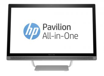 "Моноблок HP - Pavilion 27-a134ur, 27"", Intel Core i3 6100T 3200MHz, SODIMM DDR4 4GB, 1TB, Intel HD Graphics 530, DVD-RW, Серебристый, Windows 10 Home 64, Z0K54EA - фото 1"