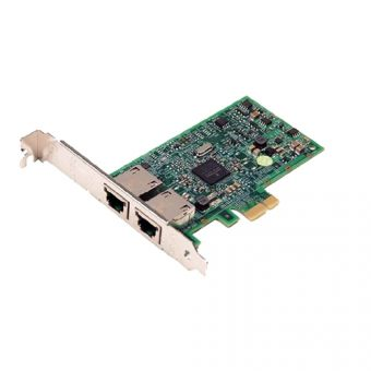 Сетевая карта Dell Broadcom 5720 1 Гб/с RJ-45 2-port, Low profile, 540-11136