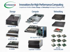 Изображение Новые решения от Supermicro – HPC SuperServer, Storage, and Networking Solutions