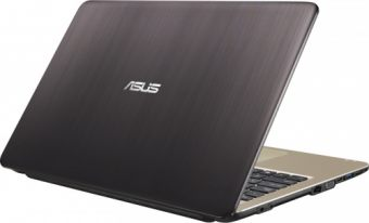 "Ноутбук Asus VivoBook X540SA-XX012T - 15.6"", 1366x768 (WXGA), Intel Celeron N3050 1600MHz, On board DDR3L 2GB, HDD 500GB, Intel HD Graphics, Bluetooth, Wi-Fi, noDVD, 3cell, Чёрный, Windows 10 Home 64, 90NB0B31-M00740 - фото 1"