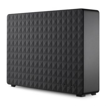 "Внешний диск HDD Seagate Expansion Desk 3TB 3.5"" USB 3.0 Чёрный STEB3000200 - фото 1"