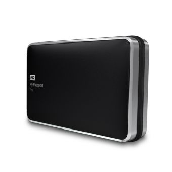 "Внешний диск HDD Western Digital My Passport Pro 2TB 2.5"" Thunderbolt Чёрный WDBRMP0020DBK-EESN - фото 1"