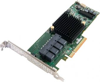 RAID-контроллер Adaptec - RAID 71605, SAS-3 12 Гб/с, PCI Express 2.0 x8, 4хSFF8643 internal, Low Profile, 2274400-R