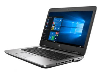"Ноутбук HP ProBook 640 G2 - 14"", 1920x1080 (Full HD), Intel Core i5 6200U 2300MHz, SODIMM DDR4 8GB, SSD 256GB, Intel HD Graphics 520, Bluetooth, Wi-Fi, LTE, DVD-RW, 3cell, Чёрный, Windows 10 Pro 64 downgrade Windows 7 Professional 64, T9X08EA - фото 1"