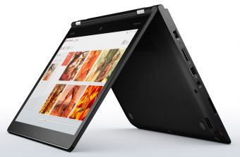 "Ноутбук-трансформер Lenovo ThinkPad YOGA 460 - 14"", 1920x1080 (Full HD), Intel Core i5 6200U 2300MHz, SODIMM DDR3L 4GB, Hybrid 500GB + 8GB, Intel HD Graphics 520, Bluetooth, Wi-Fi, TouchScreen, noDVD, 3cell, Чёрный, Windows 10 Pro 64, 20EL0014RT - фото 1"