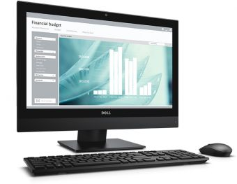 "Моноблок Dell Optiplex 3240 21.5"" Intel Core i5 6500 1x4GB 500GB Intel HD Graphics 530 Windows 10 Pro 64 downgrade Windows 7 Professional 64, 3240-9992"