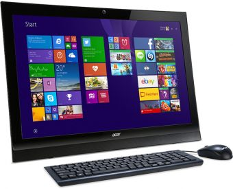 "Моноблок Acer - Z1-622, 21.5"", Intel Celeron N3150 1600MHz, SODIMM DDR3 4GB, 500GB, Intel HD Graphics, DVD-RW, Wi-Fi, Bluetooth, Чёрный, FreeDOS, DQ.SZ8ER.003"