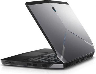 "Игровой ноутбук Dell Alienware 13 - 13.3"", 1920x1080 (Full HD), Intel Core i5 6200U 2300MHz, SODIMM DDR3L 8GB, HDD 1TB, nVidia GeForce GTX 960M 2GB, Bluetooth, Wi-Fi, noDVD, 4cell, Серебристый, Windows 10 Single Language 64, A13-1561 - фото 1"