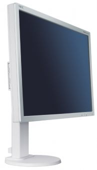 "Монитор NEC - E201W, 20.1"", 16:9, LED, TN, 5ms, 250cd/m², 1000:1, 1600x900 (HD+), HAS, Pivot, Белый, E201W"